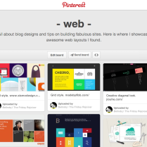 Belindq | The Friday Rejoicer's Pinterest Board of Webspiration