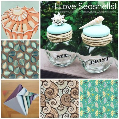 I Love Seashell II TFR. Pattern, DIY & Origami